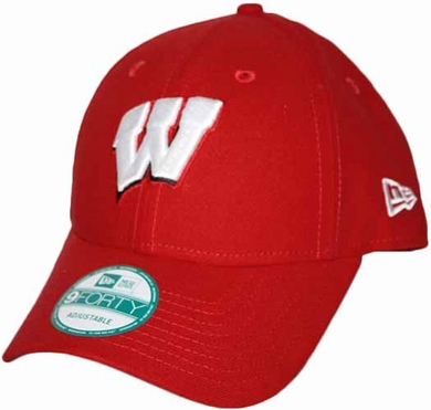 Wisconsin Badgers 9Forty The League Adjustable Hat