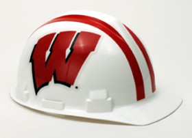 Wisconsin Badgers Hard Hat