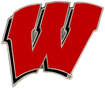 Wisconsin Badgers W Hitch Cover Class 3
