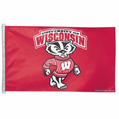 Wisconsin Big 3x5 Flag