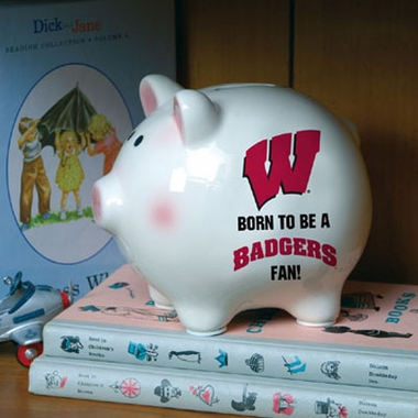 Wisconsin (Born to Be) Piggy Bank