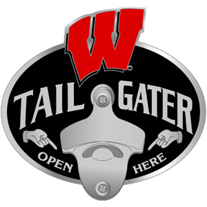 Wisconsin Bottle Opener Hitch Cover