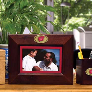 Wisconsin BROWN Landscape Picture Frame