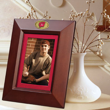 Wisconsin BROWN Portrait Picture Frame