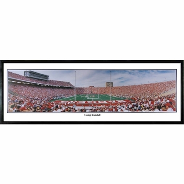 Wisconsin Camp Randall Framed Panoramic Print