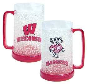 Wisconsin Crystal Freezer Mug