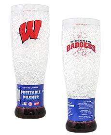Wisconsin Crystal Pilsner Glass