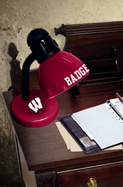 Wisconsin Dorm Lamp