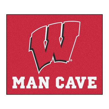 Wisconsin Economy 5 Foot x 6 Foot Man Cave Mat