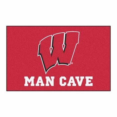 Wisconsin Economy 5 Foot x 8 Foot Man Cave Mat