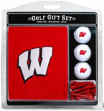 Wisconsin Embroidered Towel Gift Set