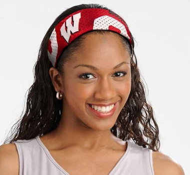 Wisconsin FanBand Hair Band