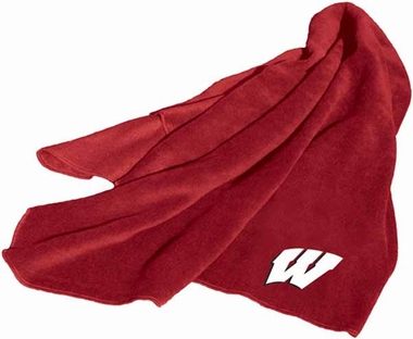 Wisconsin Fleece Throw Blanket