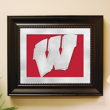 Wisconsin Framed Laser Cut Metal Wall Art