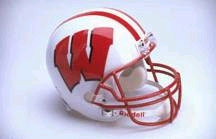 Wisconsin Full Sized Replica Helmet