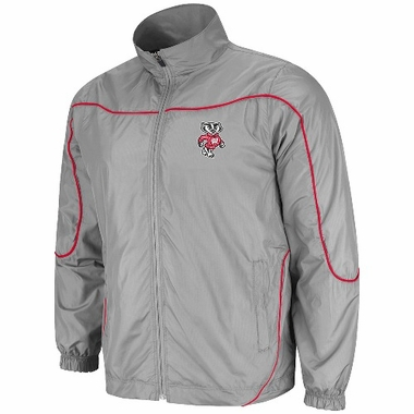 Wisconsin Gunner Charcoal Full Zip Training Jacket