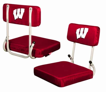 Wisconsin Hard Back Stadium Seat