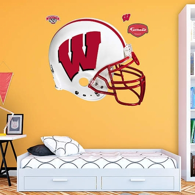 Wisconsin Helmet Fathead Wall Graphic
