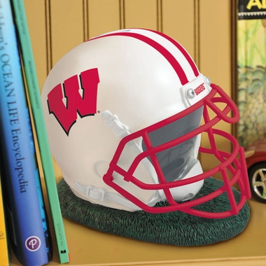 Wisconsin Helmet Shaped Bank