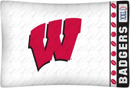Wisconsin Individual Pillowcase
