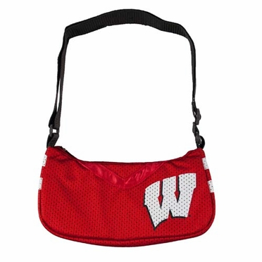 Wisconsin Jersey Material Purse