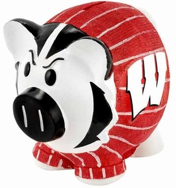 Wisconsin Large Thematic Piggy Bank