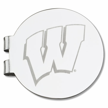 Wisconsin Laser Engraved Money Clip