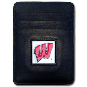 Wisconsin Leather Money Clip (F)
