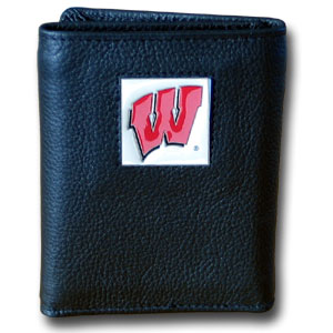 Wisconsin Leather Trifold Wallet