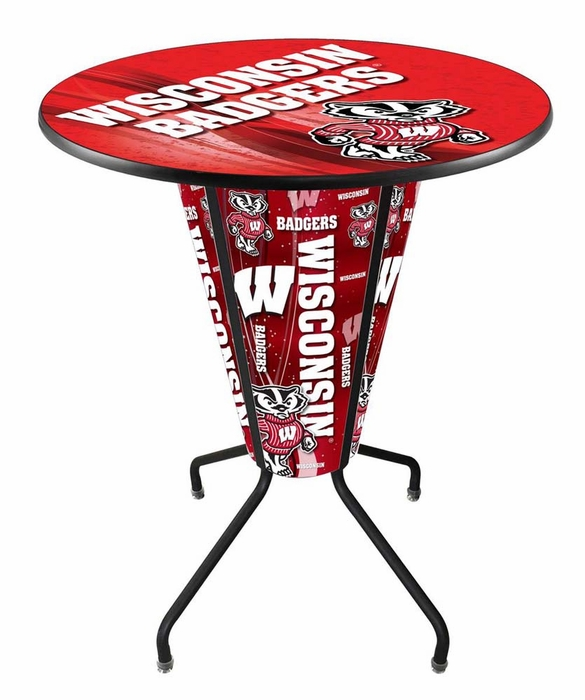 Wisconsin LED Pub Table # Table Galet Led
