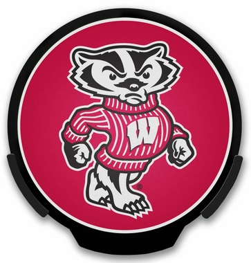Wisconsin Badgers Light Up Paower Decal