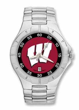 Wisconsin Pro II Men's Stainless Steel Watch