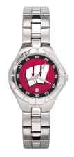 Wisconsin Pro II Women's Stainless Steel Watch