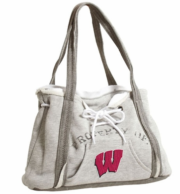 Wisconsin Property of Hoody Purse