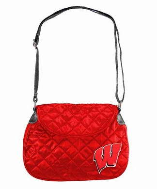 Wisconsin Quilted Saddlebag
