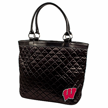Wisconsin Quilted Tote