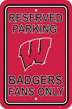 Wisconsin Plastic Parking Sign (P)