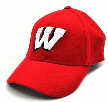 Wisconsin Team Color Premium FlexFit Hat