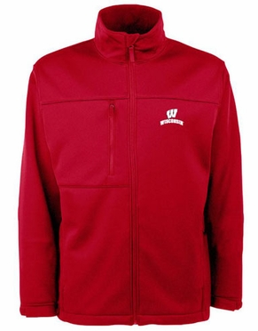 Wisconsin Mens Traverse Jacket (Team Color: Red)
