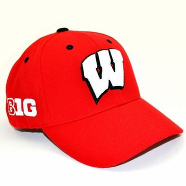 Wisconsin Triple Conference Adjustable Hats