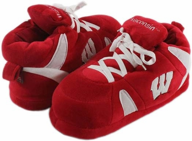 Wisconsin UNISEX High-Top Slippers