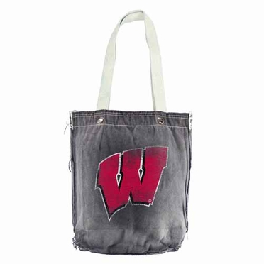 Wisconsin Vintage Shopper (Black)
