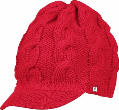Wisconsin Women's Visor Knit Hat