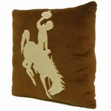 Wyoming 15 Inch Applique Pillow