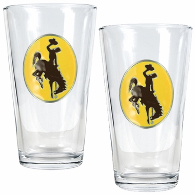 Wyoming 2 Piece Pint Glass Set