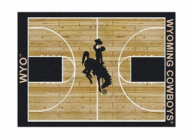"Wyoming 3'10"" x 5'4"" Premium Court Rug"