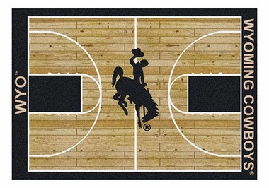"Wyoming 5'4"" x 7'8"" Premium Court Rug"