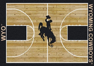 "Wyoming 7'8"" x 10'9"" Premium Court Rug"