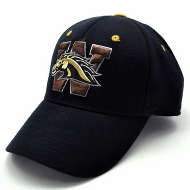 Wyoming Black Premium FlexFit Baseball Hat