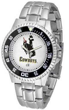Wyoming Competitor Men's Steel Band Watch
